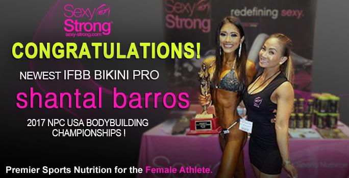 New IFBB Pro Bikini Shantal BArros